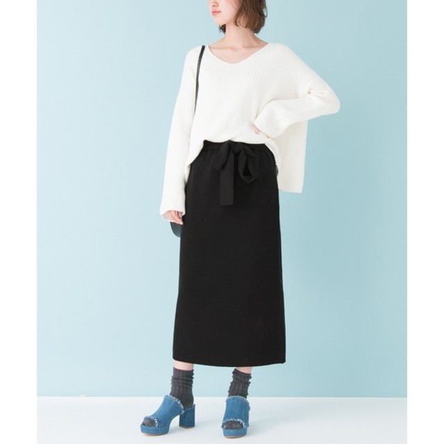 URBAN RESEARCH / アーバンリサーチ リブニットタイトスカート