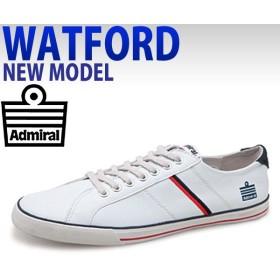 アドミラル メンズスニーカー  シューズ WATFORD admiral ワトフォード トリコロール