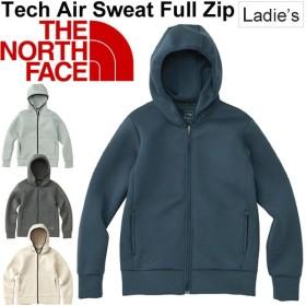 スウェット パーカー レディース ザノースフェイス THE NORTH FACE Tech Air フルジップ フーディ 女性用 トレーニングウェア 正規品/NTW11786