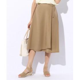 any SiS リネンライクライトクロススカート