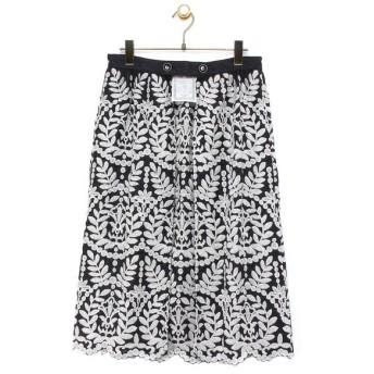 BEARDSLEY / ビアズリー 【&Premium掲載商品】刺繍オーバースカート
