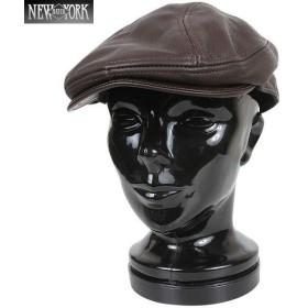New York Hat ニューヨークハット 9250 Lamba 1900 レザーハンチング ブラウン [9250] ブランド