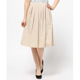 L size ONWARD(大きいサイズ) / エルサイズオンワード ハイデンスブロード スカート
