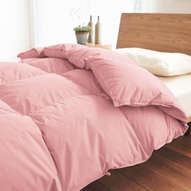 抗菌防臭加工WDD93%使用した羽毛布団 「ピンク」