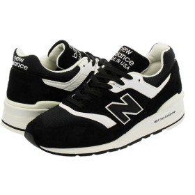 NEW BALANCE M997BBK 【MADE IN U.S.A.】 【Dワイズ】 ニューバランス  M 997 BBK BLACK/WHITE