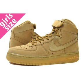NIKE AIR FORCE 1 HIGH LV8 GS 【WHEAT PACK】 ナイキ エア フォース 1 ハイ 07 LV8 GS FLAX/OUTDOOR GREEN