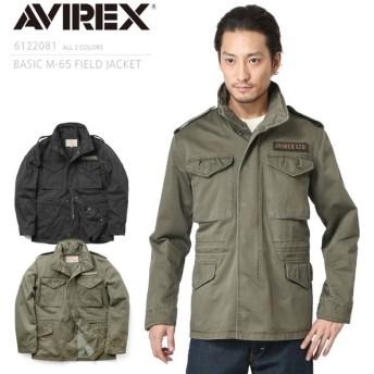 AVIREX アビレックス 6122081 BASIC M-65 フィールドジャケット メンズ アウター ミリタリージャケット ジャンパー ブランド【クーポン対象外】