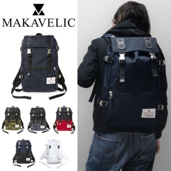 マキャベリック MAKAVELIC リュック 3104-10103 TRUCKS DOUBLE BELT DAYPACK MEDIUM トラックス バックパック リュックサック デイパック