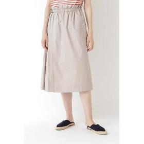 HUMAN WOMAN / ヒューマンウーマン 《arrive paris》タックプリーツスカート