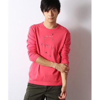PINK HOUSE / ピンクハウス ペンギン刺繍長袖Tシャツ