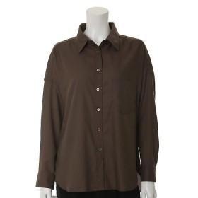 CLEAR IMPRESSION / クリアインプレッション 《WEB限定大きいサイズ》ドルマンスリーブ&バックロングシャツ