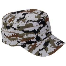 男女兼用 調節可能 帽子 野球帽 ハット  キャップ 練習用 迷彩 ギフト 全5タイプ選べる - #2