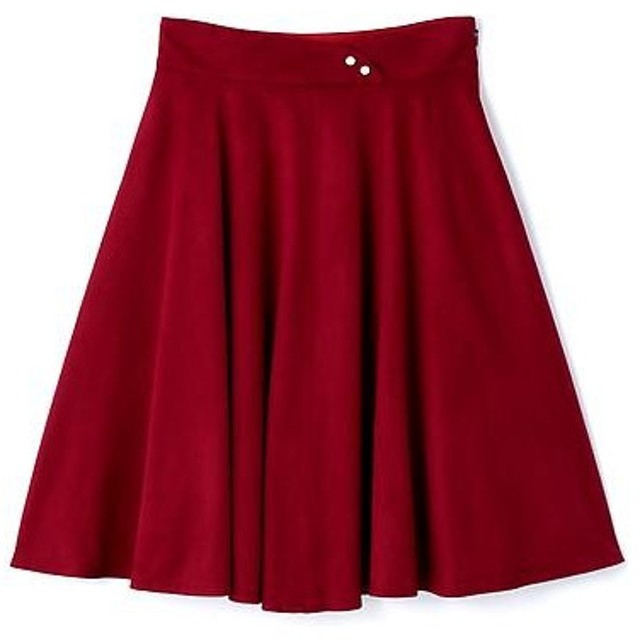 PROPORTION BODY DRESSING / プロポーションボディドレッシング  ヌーディースエードスカート