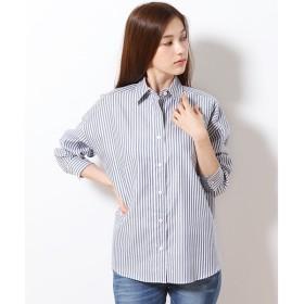 SHIPS for women / シップスウィメン コットンオックスビックシャツ