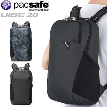 pacsafe パックセーフ 12970186 VIBE 20 バイブ20 バックパック リュックサック デイパック メンズ レディース バッグ 旅行 防犯 ブランド