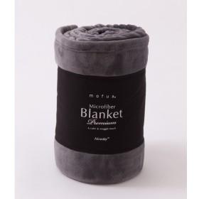 毛布 豊富な20色から選べるマイクロファイバー毛布 mofua グレー シングル