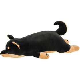 枕 抱き枕 ベルメゾン もっちもちの抱き枕 黒柴 M