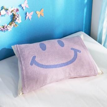 布団カバー シーツ 枕カバー ピローケース のびのび枕カバー カラー スマイル
