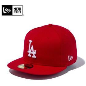 セール20%OFF!【メーカー取次】 NEW ERA ニューエラ 59FIFTY MLB ロサンゼルス・ドジャース スカーレットXホワイト 11308609 キャップ ブランド