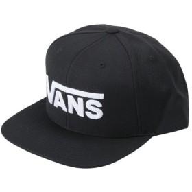 【VANSアパレル】 ヴァンズ キャップ(帽子) DROP V II SNAPBACK VN0A36ORY28 BLACK-WHITE