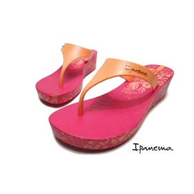 9566d9a5a5e01f イパネマ IPANEMA HONOLULU ビーチサンダル 厚底トングサンダル ピンク レディース 靴