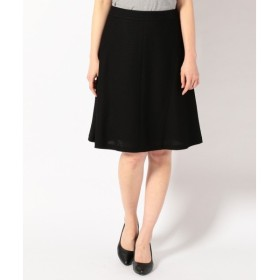 L size ONWARD(大きいサイズ) / エルサイズオンワード ラッセルジャージートータル スカート