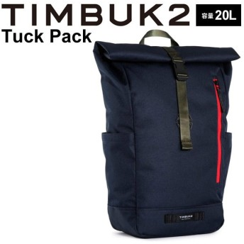 バックパック メンズ レディース TIMBUK2 ティンバック2 タックパック 20L/ロールトップ リュックサック/101035401【取寄】