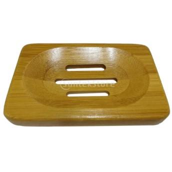 竹 石鹸ホルダー 皿 収納サポート プレートスタンド