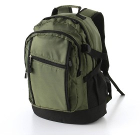 バッグ カバン 鞄 レディース リュック ユニセックススポーティーデイパック/Mサイズ カラー カーキ