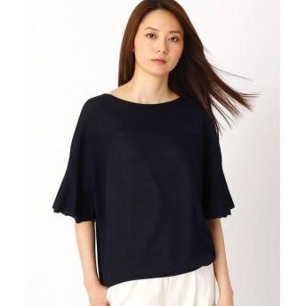 COMME CA コムサ ホールガーメント編みセーター