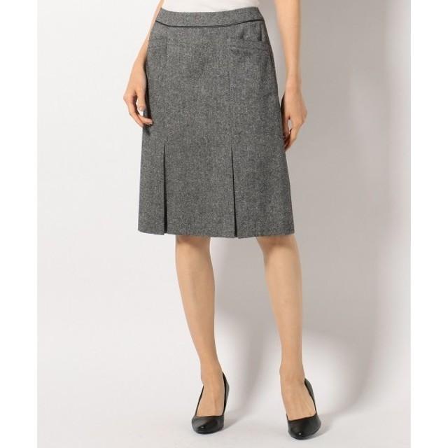J.PRESS / ジェイプレス 【セットアップ対応】ネップツイード スカート