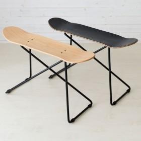 本物のスケートボードから作られた スツール スツール スケボー チェア イス シンプル 西海岸 アメリカン ヴィンテージ 完成品 男前 西海岸 北欧