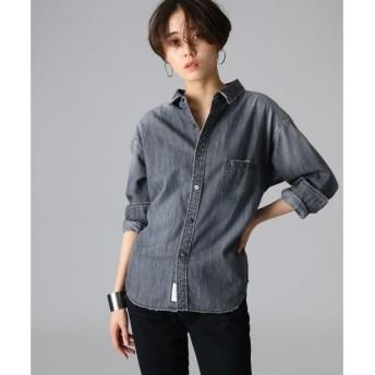 JET / ジェット 【洗える】ヴィンテージライクデニムシャツ