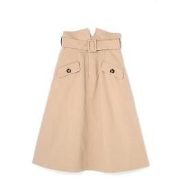PROPORTION BODY DRESSING / プロポーションボディドレッシング  《EDIT COLOGNE》デザイントレンチスカート