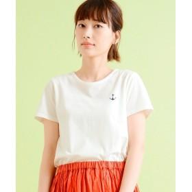NIMES / ニーム 30コーマ天竺 ancre Tシャツ