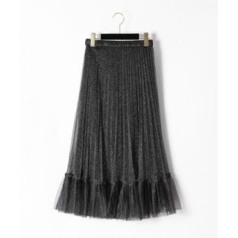 GRACE CONTINENTAL / グレースコンチネンタル チュールプリーツスカート