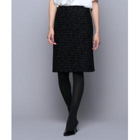 S size ONWARD(小さいサイズ) / エスサイズオンワード 【セットアップ対応】インレージャージー ツイードスカート