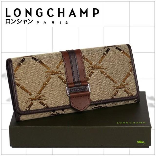 6097152c464f ロンシャン LMジャカード 長財布 ブラウン 通販 LINEポイント最大0.5%GET ...