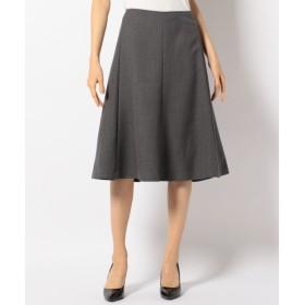 L size ONWARD(大きいサイズ) / エルサイズオンワード ウールダブルクロス スカート