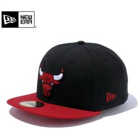 セール21%OFF!【メーカー取次】 NEW ERA ニューエラ 59FIFTY NBA シカゴ・ブルズ ブラックXスカーレット 11308681 キャップ ブランド