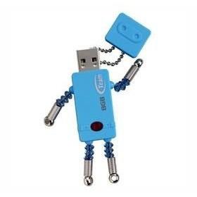 ロボット型USB Team 8GB USBフラッシュメモリ T-bot