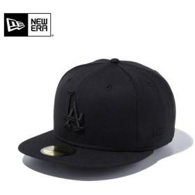 【メーカー取次】 NEW ERA ニューエラ 59FIFTY MLB ロサンゼルス・ドジャース ブラックXブラック 11308637 キャップ ブランド
