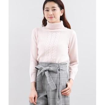 ef-de / エフデ フロントデザインタートルセーター
