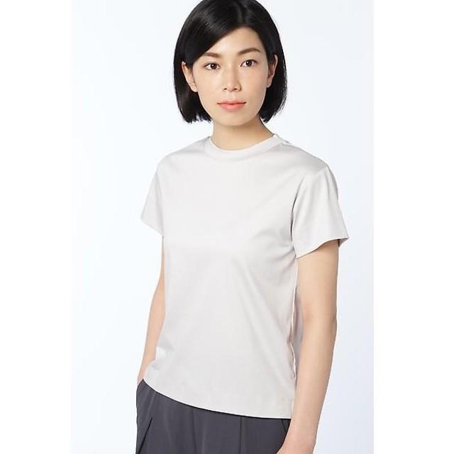 HUMAN WOMAN / ヒューマンウーマン cool cotton interlockカットソー