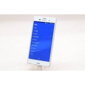 [中古] au Sony Mobile Xperia Z3 SOL26 ホワイト