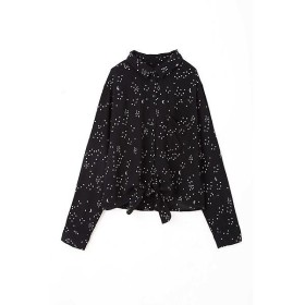 ROSE BUD / ローズ バッド [RAILS]星柄前結びシャツ