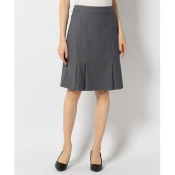 S size ONWARD(小さいサイズ) / エスサイズオンワード 【セットアップ対応】T/Rシャドーストライプ スカート