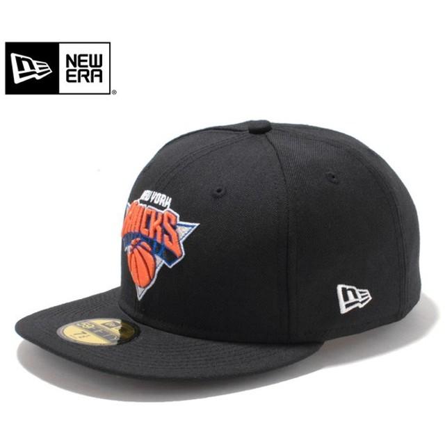 セール20%OFF!【メーカー取次】 NEW ERA ニューエラ 59FIFTY NBA ニューヨーク・ニックス ブラック 11308583 キャップ ブランド