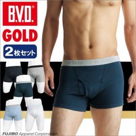 2枚セット BVD GOLD ボクサーブリーフ LL/メンズインナー/日本製/綿100%