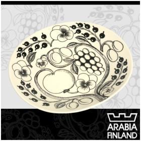 アラビア ARABIA ブラックパラティッシ オーバルプレート25cm食器
